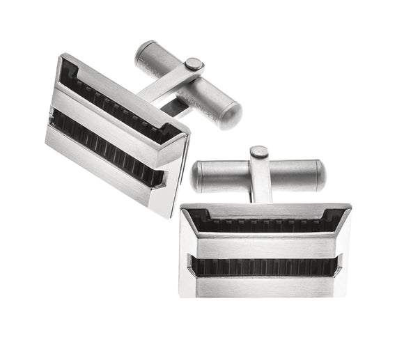 Stainless Steel Zeppleine Cufflinks