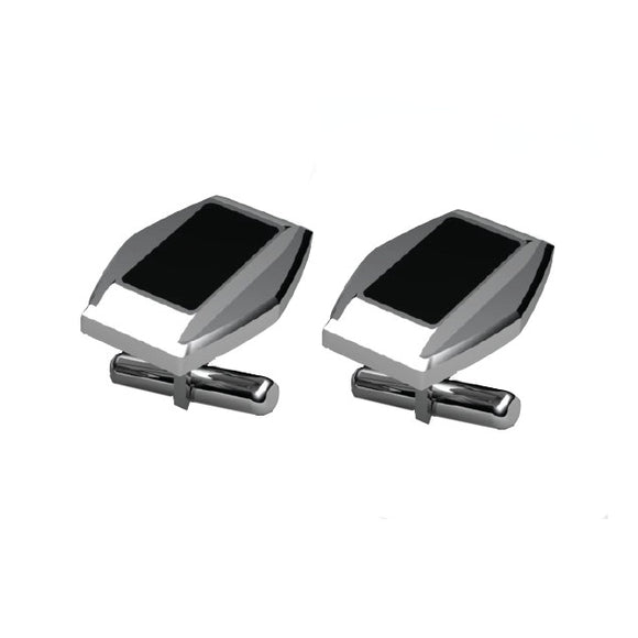 Stainless Steel Onyx Cufflinks
