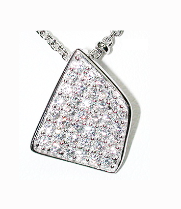 Fancy Square Abstract Necklace