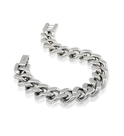 Stainless Steel Curb Bracelet