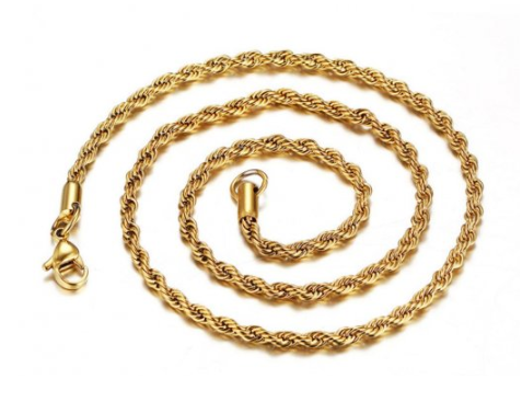 Gold Ip Rope Chain