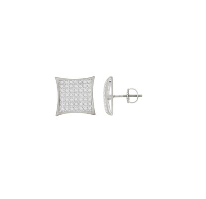(0.15cttw) Kite Design Diamond Studs