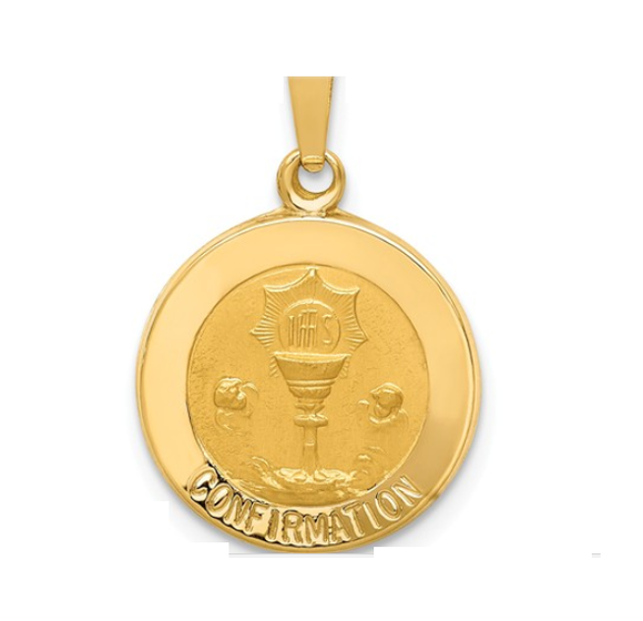 (Small) Confirmation Disc Pendant