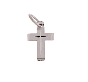 WhiteGold Cross