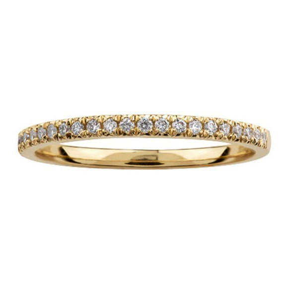 (0.15Cttw) Pavee Diamond Ring