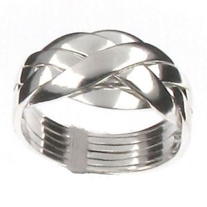 6 Ring Puzzle Ring