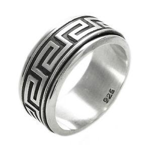 Greek Key Spinning Ring
