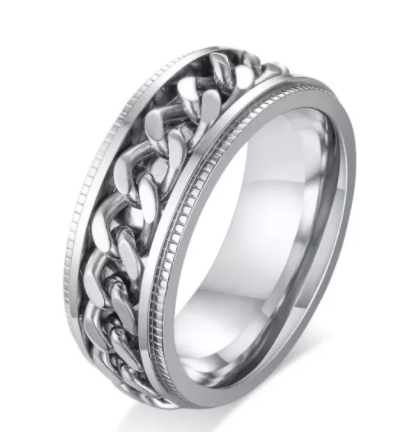 Stainless Steel Spinner Chain Ring
