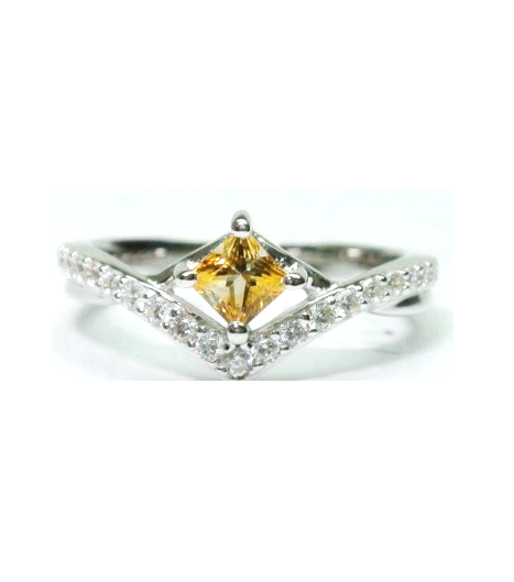 Citrine Gem Ring