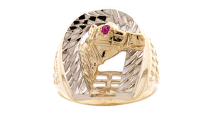 2 Tone Horse Ring