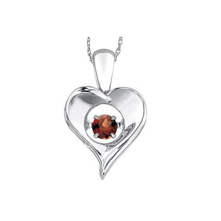Sterling Silver and Ruby