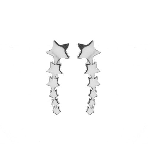 Sterling Silver Star Ear Climber