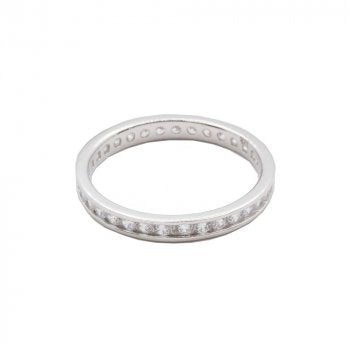 CZ Chanel Eternity Band
