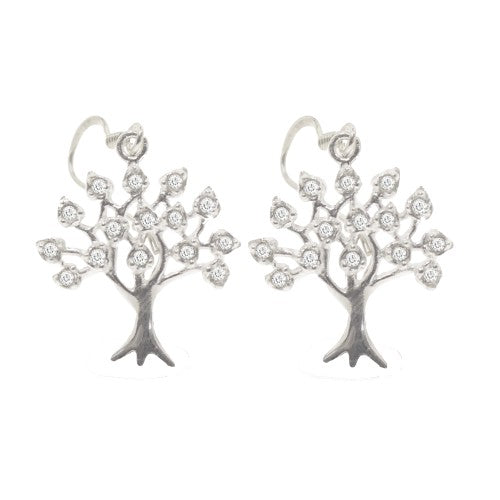 Tree of Life Dangling Earrings