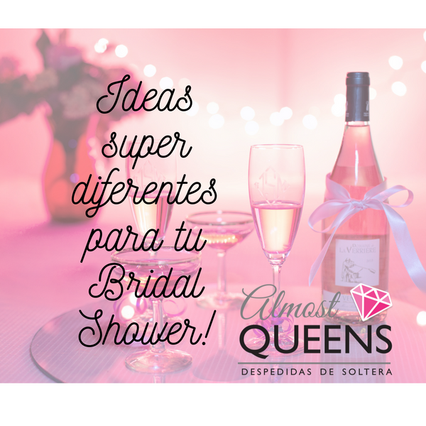 Ideas super diferentes para tu Bridal Shower