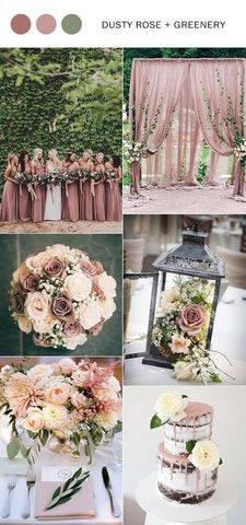 tendencias boda 2018 colores