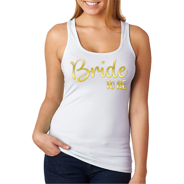 Tank top Bride to be
