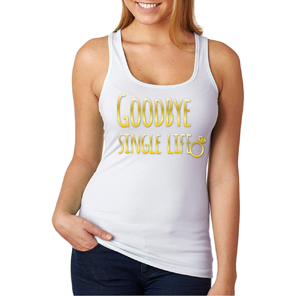 Tank top Goodbye single life