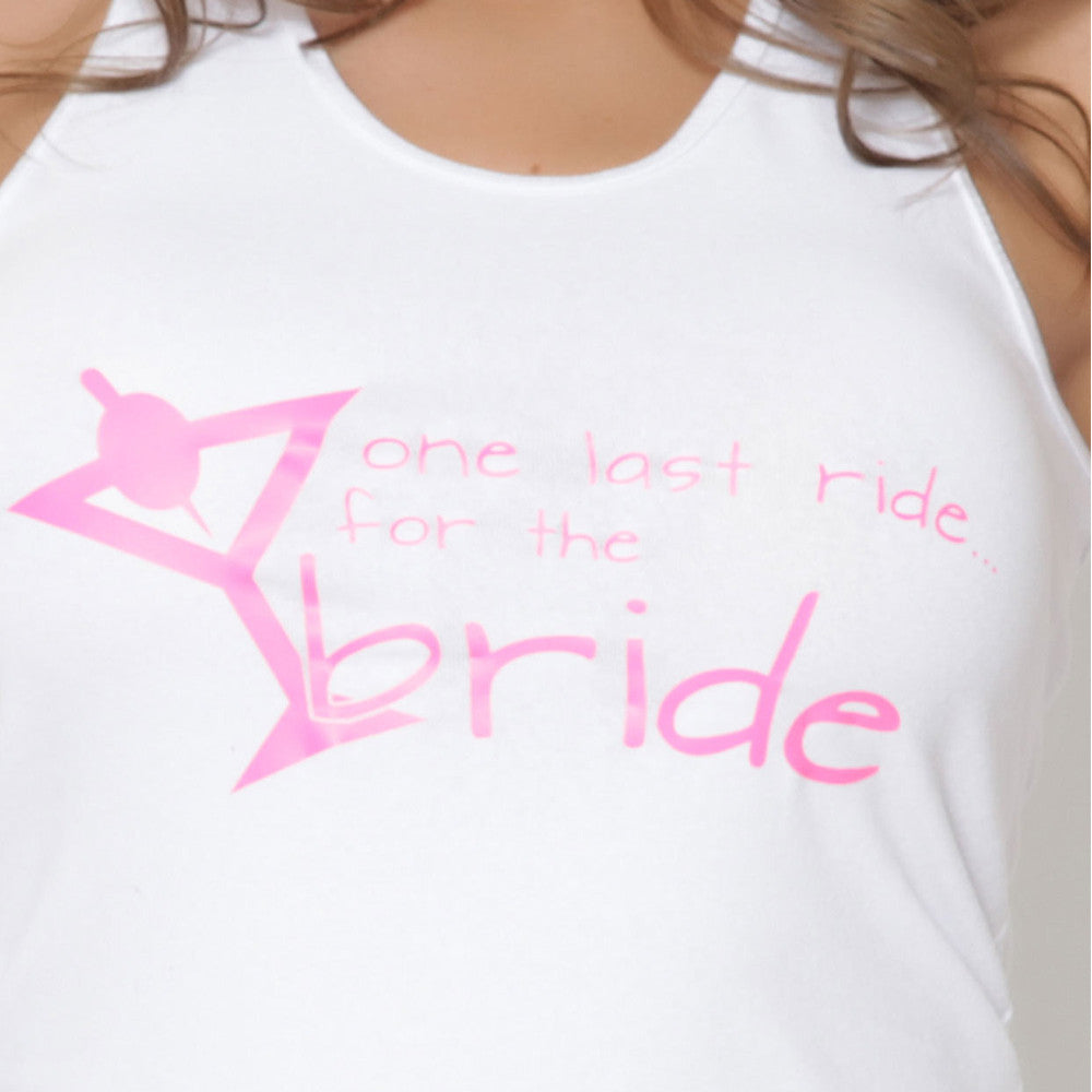 Playera Bride Martini