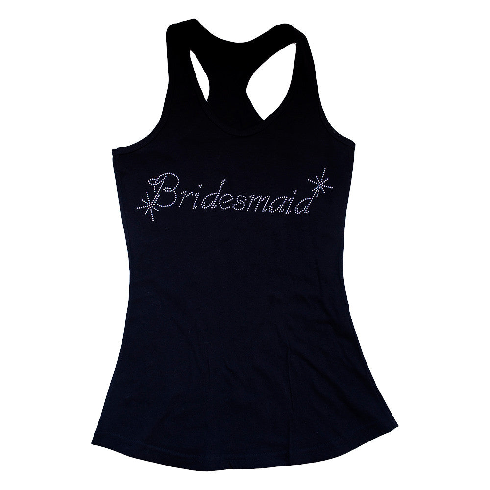 Playera con diamantes Bridesmaid