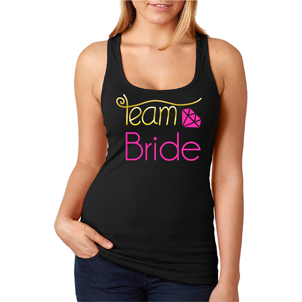 Tank top Team Bride
