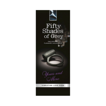 Fifty Shades of Grey Yours and Mine Vibrating Love Ring Package