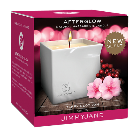 JimmyJane Massage Candle Berry Blossom