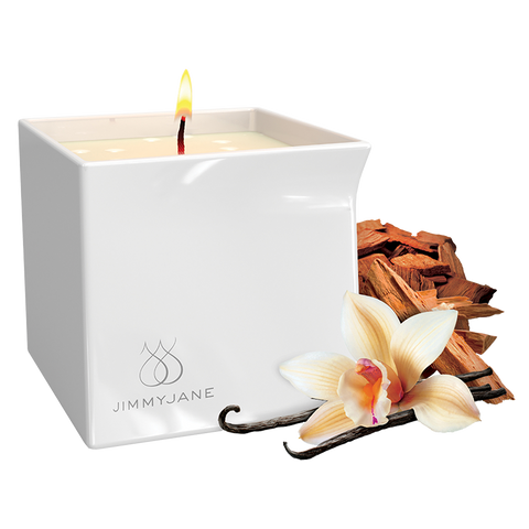 JimmyJane Massage Candle Vanilla Sandalwood