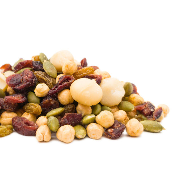 Healthy Medley (Macadamia, green melon seeds, roasted chickpeas, cranberries, raisins) 200g/1kg 健康混合