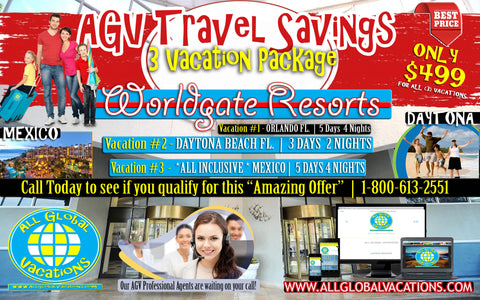 AGV Travel Savers Vacation Package!  2 Coca Cola Orlando Eye Tickets (3 vacations Orlando FL, Daytona or FT. Lauderdale gifts) 85% Off