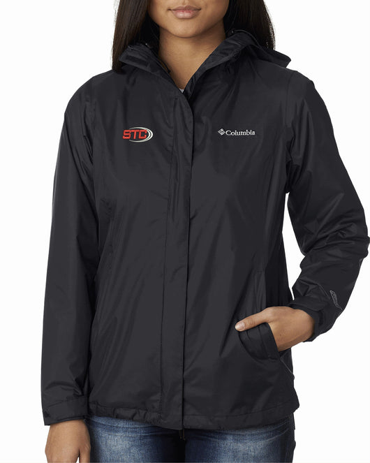 STC Ladies' Columbia Rain Jacket