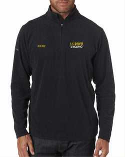 UCDC Columbia Men's Crescent Valley Quarter-Zip Fleece