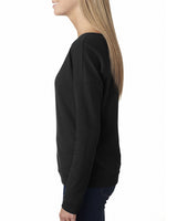UCDC Next Level Ladies' French Terry Long-Sleeve Scoop