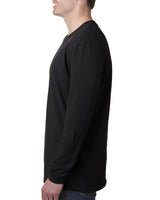 UCDC Next Level Men's Cotton Long-Sleeve Crew
