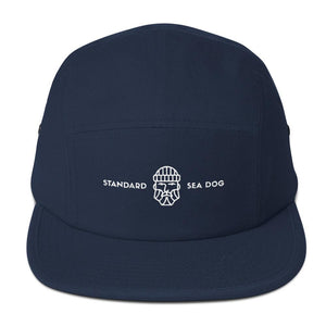 "Standard ""Sea Dog"" Five Panel Cap-Hat-Venture Modern-Navy-Venture Modern"