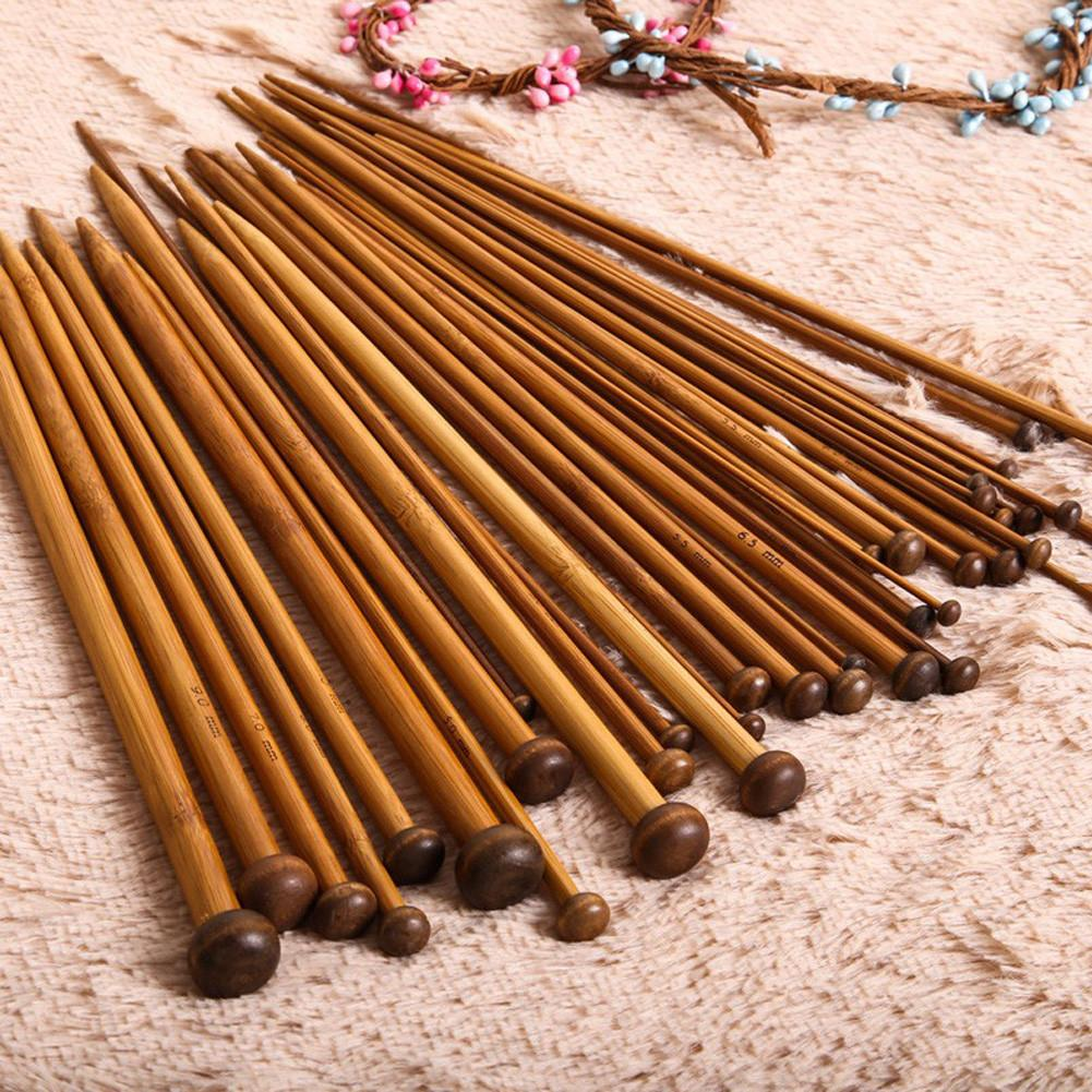 Bamboo Knitting Needles 36 Piece Set-knitting-Venture Modern-Venture Modern