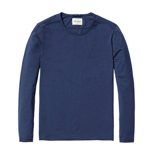 Spring Long Sleeve T-Shirt-Shirt-SIMWOOD-denim blue 2nd-L-Venture Modern