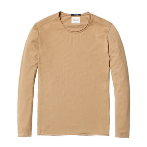 Spring Long Sleeve T-Shirt-Shirt-SIMWOOD-warm yellow 2nd-L-Venture Modern