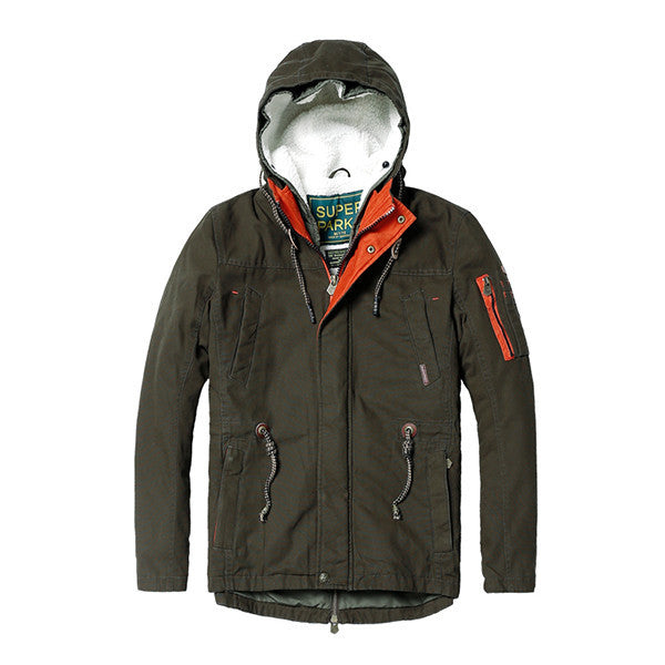 The Super Parka Winter Jacket-jacket-SIMWOOD-army green-L-Venture Modern