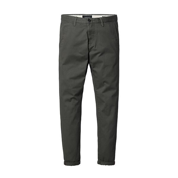 Slim Fit Chinos-m pants-Venture Modern-army green-28-Venture Modern