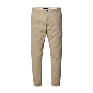Slim Fit Chinos-m pants-Venture Modern-light khaki-28-Venture Modern
