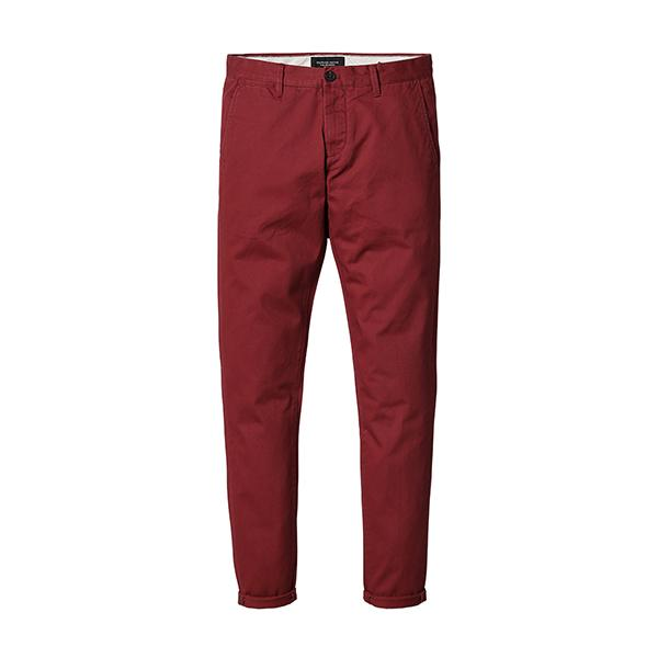 Slim Fit Chinos-m pants-Venture Modern-red-28-Venture Modern
