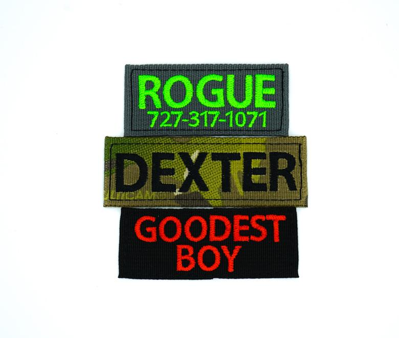 Personalized Velcro Patch (4 5 x 1 5 Inch)