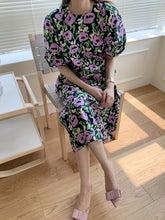 Load image into Gallery viewer, JASMINE FLORAL DRESS