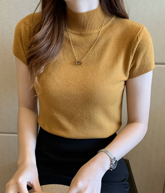 MARIANNE KNIT BASIC TOP
