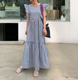 VICKY PRINTED MAXI DRESS