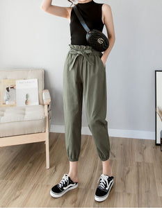 GORDIN PAPERBAG PANTS