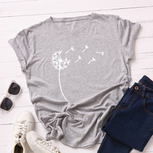Load image into Gallery viewer, SCATTERED FLORAL PRINTED TEE