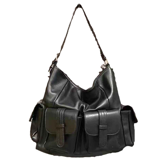 KANDRA SHOULDER BIKER BAG