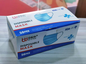 [READY-STOCK] 3-PLY MASK (50PCS/BOX)